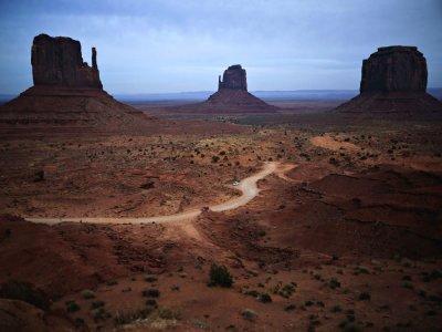 The road, Monument Valley, Arizona, 2009
