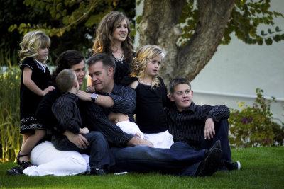 Family portrait, Scottsdale, Arizona, 2009