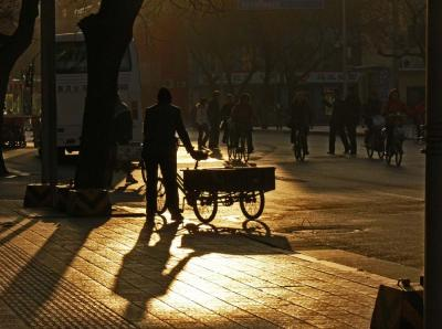 Wangfujing Street, Beijing, China, 2006