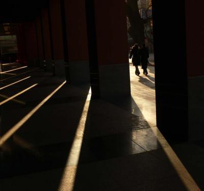 Break of day, Beijing, China, 2006