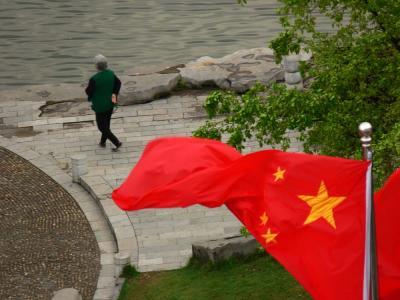 Morning exercise, Guilin, China, 2006