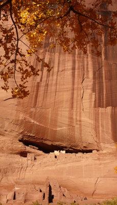 White House ruin in context, Canyon de Chelly, Arizona, 2007