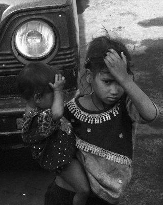 Station beggar, Agra, India, 2008