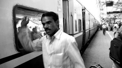 Arrival at Jhansi, India, 2008