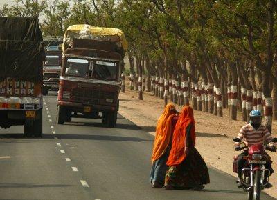 Road Risk, Rajasthan, India, 2008