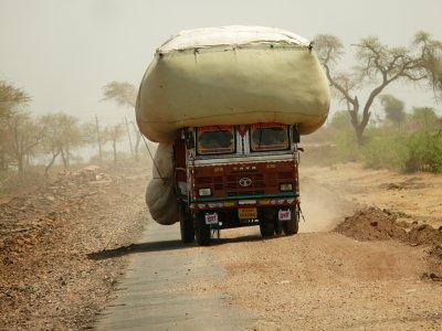 Overload, Sawai Madhopur, India, 2008