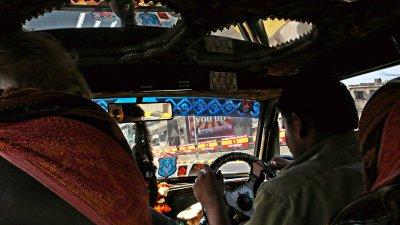Taxi, Mumbai, India 2008