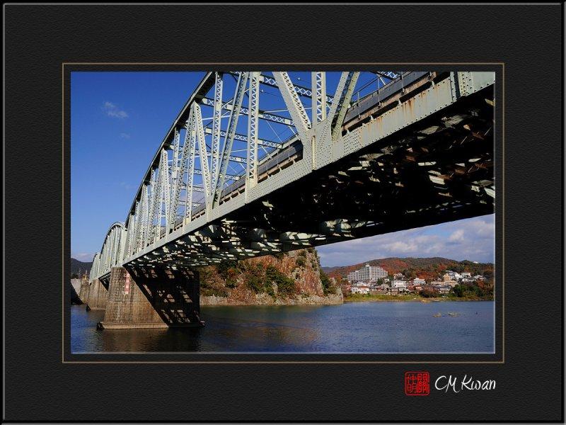 Inuyama Bridge and Kiso River
