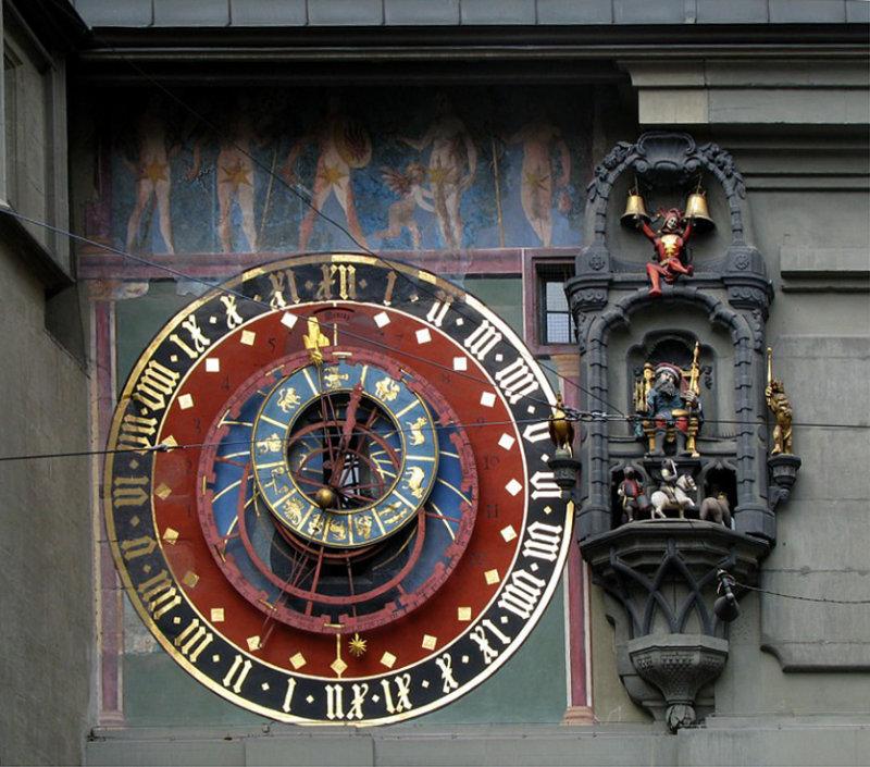 horloge médiévale