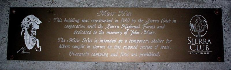 The plaque over the fire place, which is no longer used