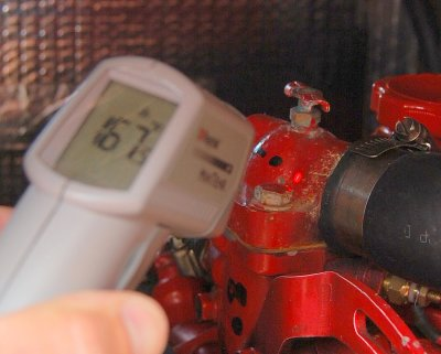 Measuring the Thermostat Housing
