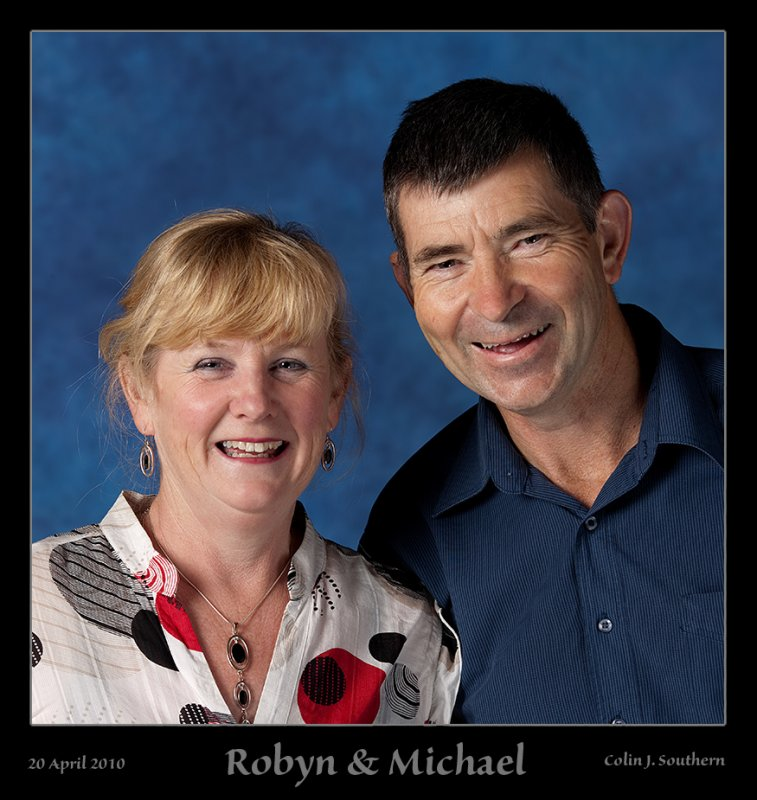 Say Hello to Robyn & Michael