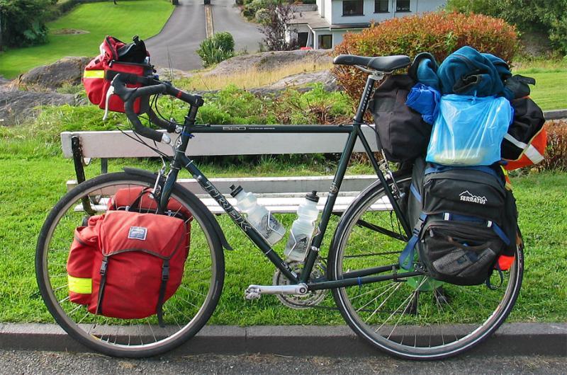 043  Robert - Touring Ireland - Trek 520 touring bike