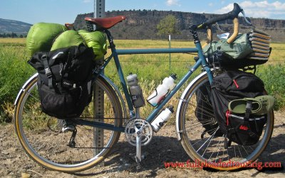 337    Rodger - Touring Oregon - Surly Long Haul Trucker touring bike