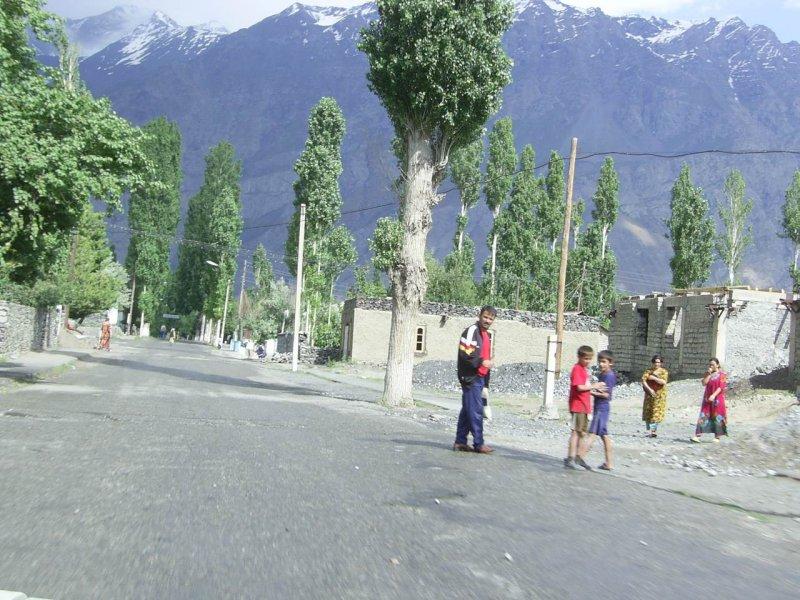 village on the way to Khorog