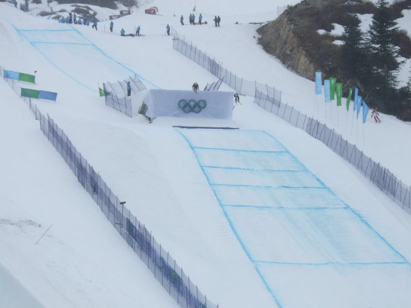 Ski Cross Finish
