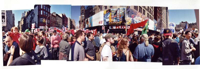 Anti-War protest, New York City (March 22, 2003)