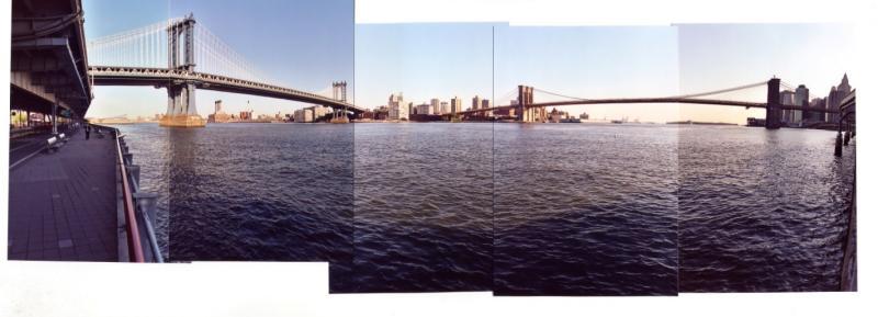 Manhattand and Brooklyn Bridges (New York 2003)