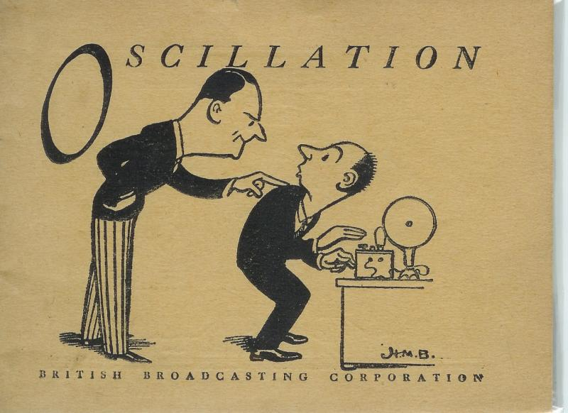 Oscillation (c. 1930) (promotional booklet for the BBC)