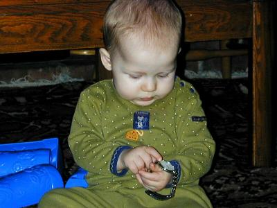 Barney who?  Aunty Wow gave me her watch to play with