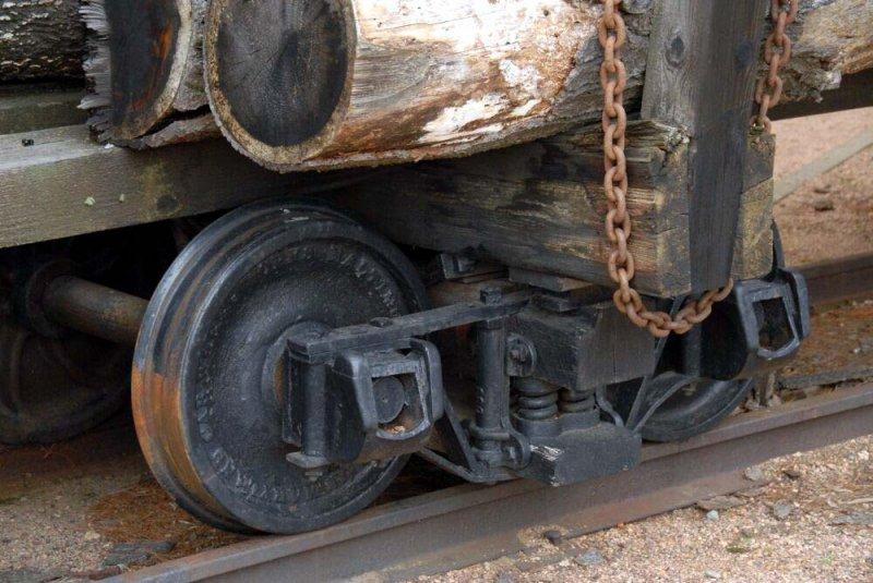 Russell log truck