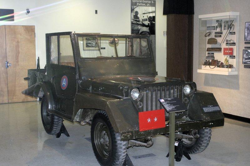 Pattons Jeep