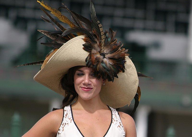 A Kentucky Derby Hat