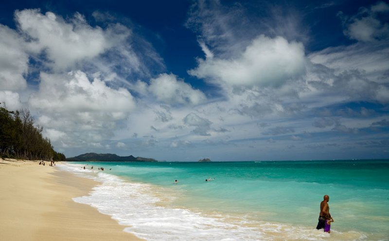 Waimanolo beach