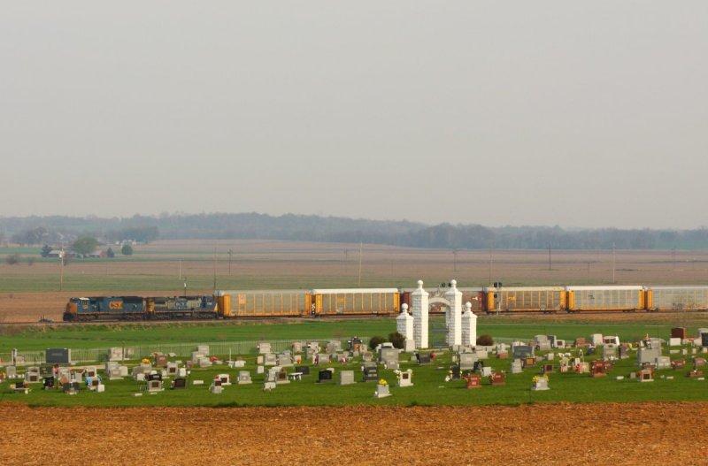 CSX 4776 Q265 King IN 18 Apr 2009