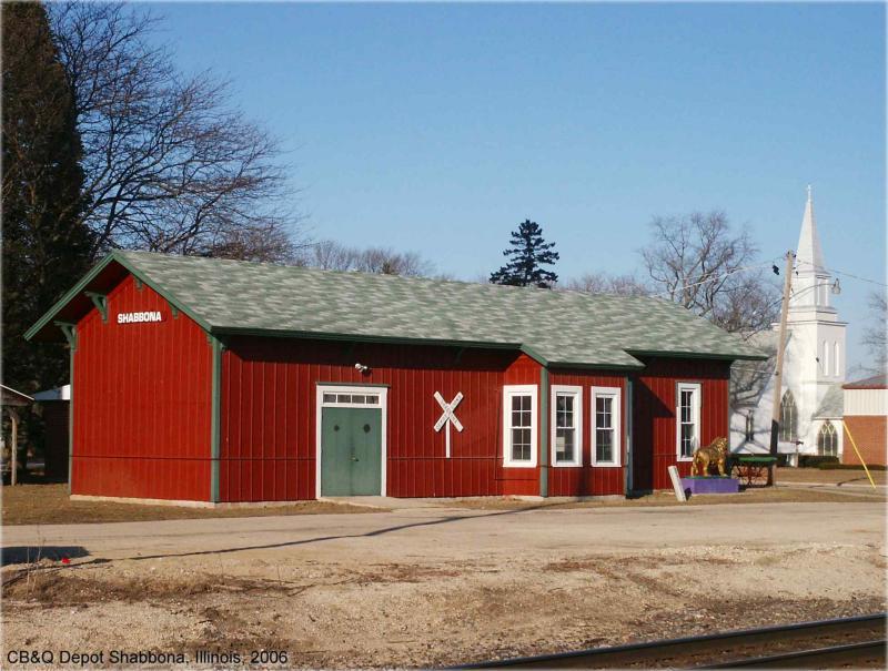 Chicago, Burlington & Quincy Depot, Shabbona, Illinois.jpg
