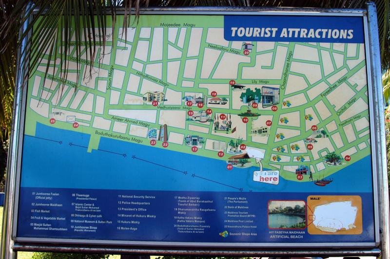 Tourist sights of Male