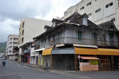Louis Pasteur St at Remy Ollier St, Port Louis