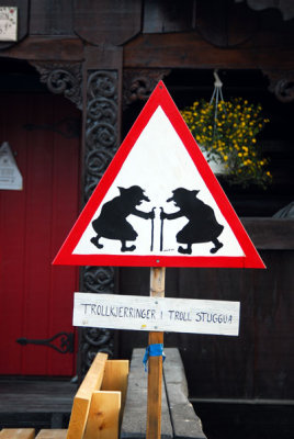 Troll Crossing, Sjoa, Norway