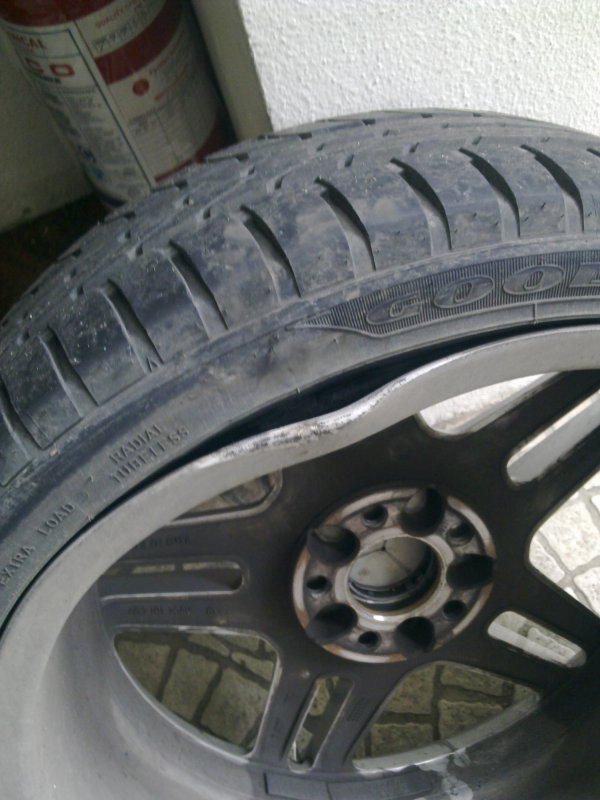 Rim Repair Cost >> Bent Rim Mbworld Org Forums