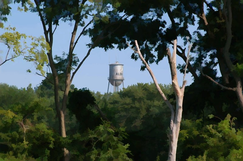 Old Albany Water Tower