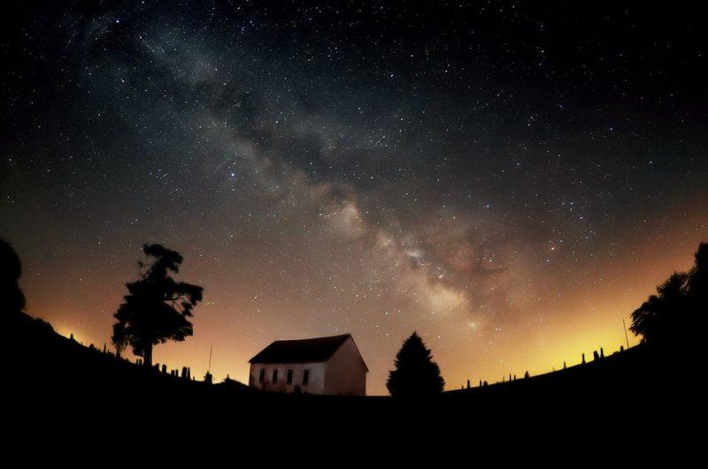 Milky Way with Fisheye Lens