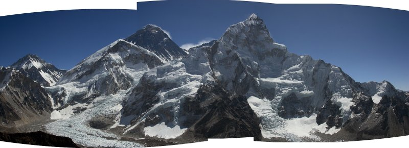 Everest from Kala Patthar (5623m, 18,448ft)