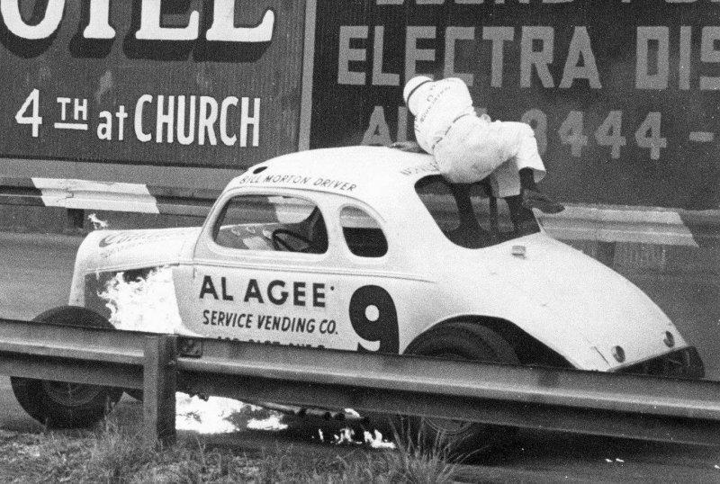 Driver Bill Morton