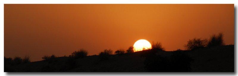 Coucher de soleil (Inde 11/07)