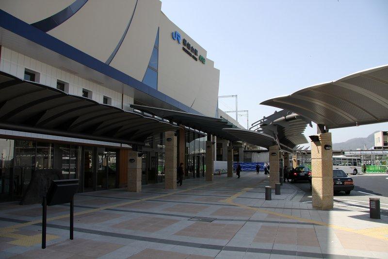 Outside JR Fukuchiyama Station