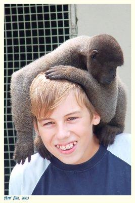 Woolly Monkey and Bob