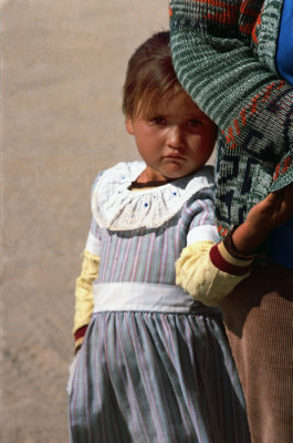 Little Girl In Mexico