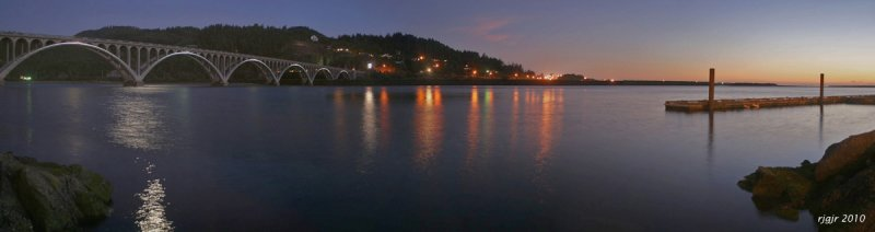 Issac Lee Patterson Bridge, Port of Gold Beach, OR