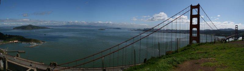 Angel Island to Golden Gate