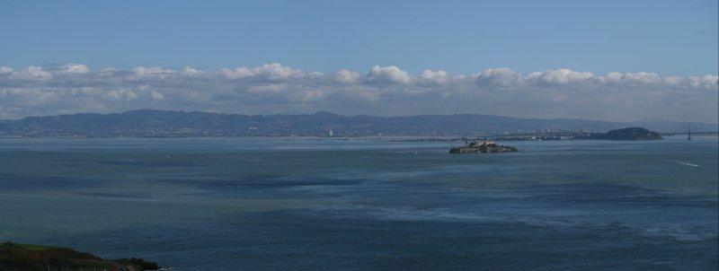 Alcatraz Island to Berkley Hills