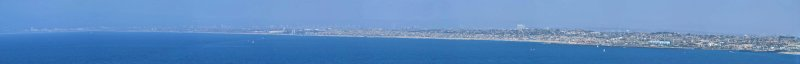 South Bay Curve, Santa Monica to Palos Verdes Estates, CA