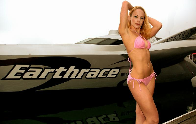 The Earthrace Super Boat:  100% Biodiesel Fuelled