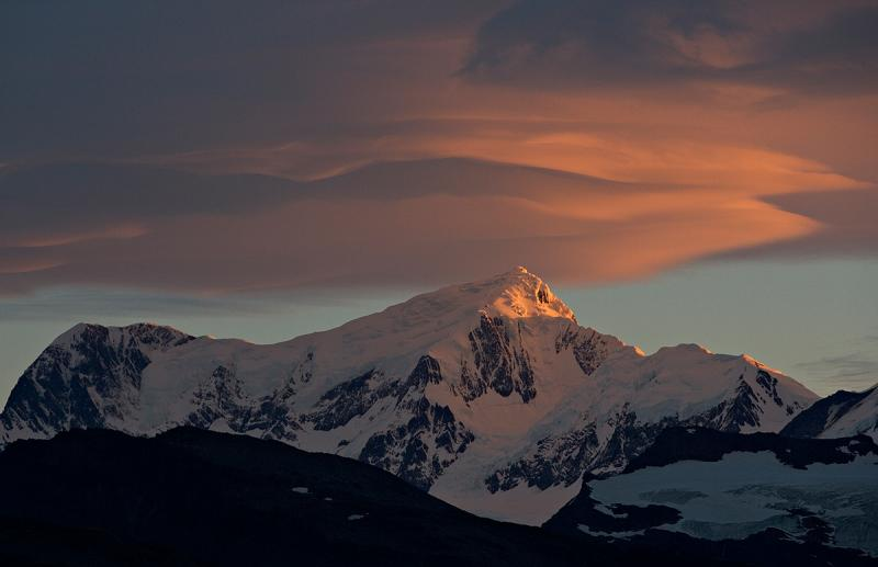 Lenticular Clouds - South Georgia Island