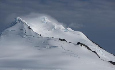 Mountain peak, Antarctica