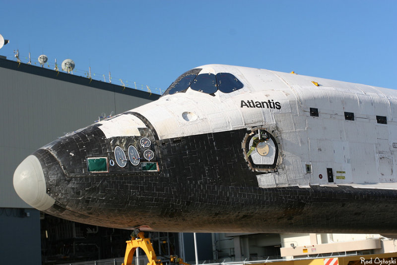 Atlantis rollover to VAB 1